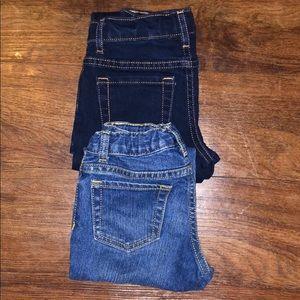 Girls Jeans EUC 2 pair😊